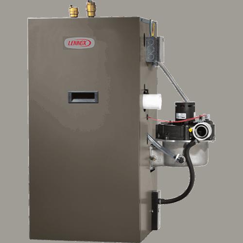 Lennox GWB9-IH boiler.