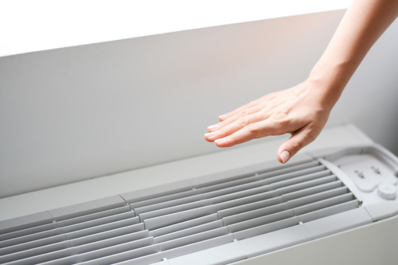 Hand Over AC Unit